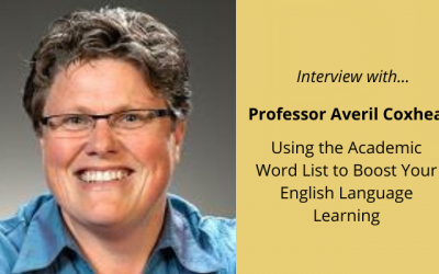 Professor Averil Coxhead: An Interview on using the Academic Word Lists to Boost Your English Language Learning